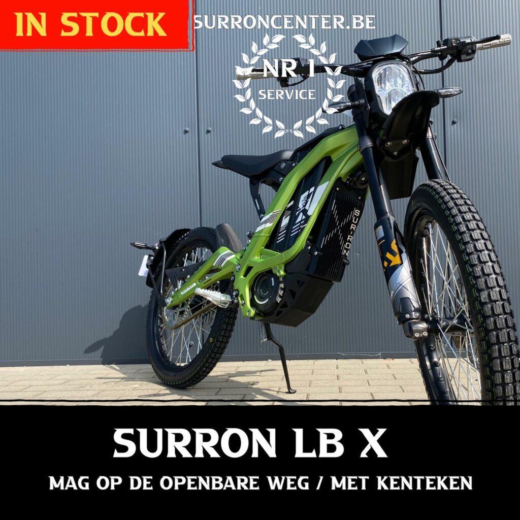 Surroncenter.be Surronspecialist Lightbee X 1-10-2021 12