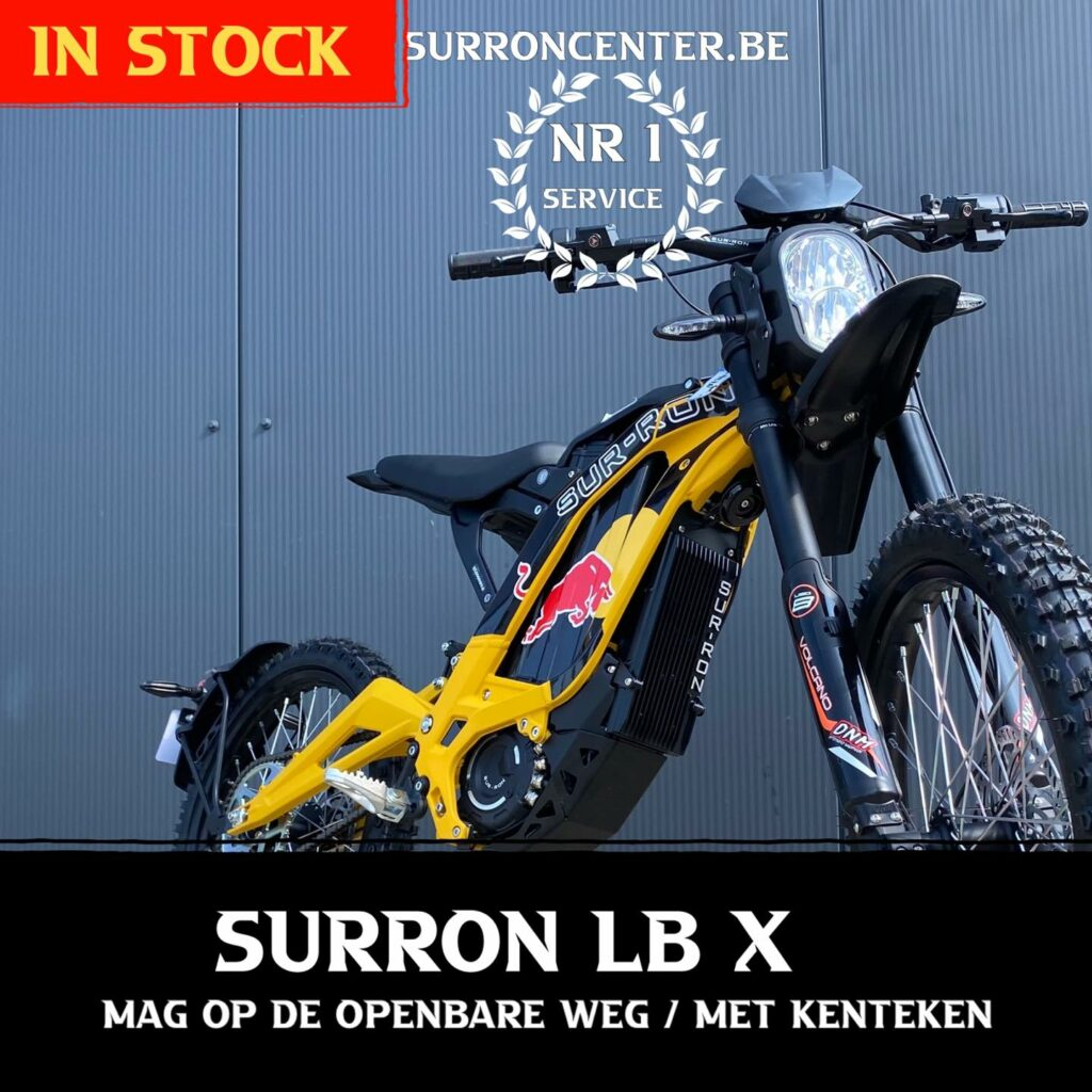 Surroncenter.be Surronspecialist Lightbee X 1-10-2021 4